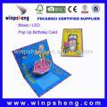 Bel bambino biglietto di auguri pop-up 3d card