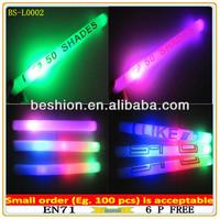 Product Printed Plastic flashing led foam stick, foam glow stick