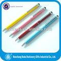 2in1ขนาดเล็กความไวสูงที่มีสีสันน่ารักเล็กๆข้ามปากกาสไตลัสัมผัส