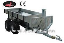 4W-A01B Flatbed Trailer with Cargo Box