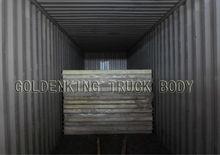 CKD refrigerated truck body/CKD cargo dry van box /truck body cargo van
