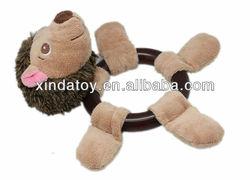 Plush hedgehog Pet toy hot sale
