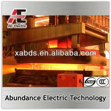 steel scrap, iron melting electric furnace EAF