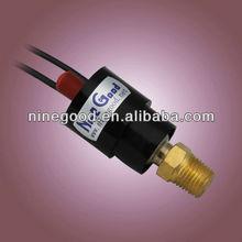 HVAC manual reset switch oil pressure