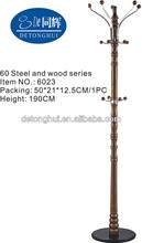 walnut coat stand wholesale (6023#)