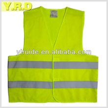 High visibility reflective safety vest EN ISO 20471:2013 120g