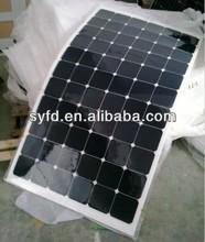 80W/90W/100W/110W/120W USA Sunpower Semi Flexible Solar Panel with Make in China for European