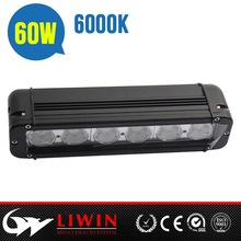 Liwin China brand 50% discount 9-70v truck led light bar 60w IP67 automobile