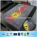 Billige chinesische nylon fußmatte, logo matten für Garage, für auto