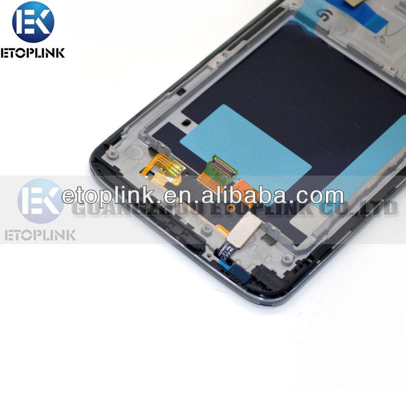 çin toptan cep telefonu lg yedek parçaları g2 lcd montaj çerçevesi