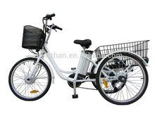 Hot sale Road bike Electric Tricycle / 3 wheels Electric Bike /E Trike