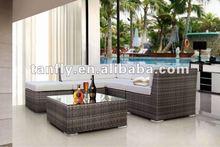 TF-9032 wicker sofa set living room furniture muebles de exterior