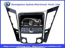 Special Car DVD GPS System With BT USB SD Radio For 8inch Hyundai Sanata