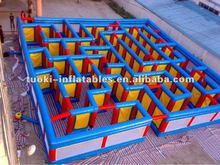 2012 PVC new inflatable maze for amusement park