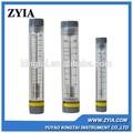 La serie lzm-g acrílico agua de alimentación de tipo de medidor de flujo