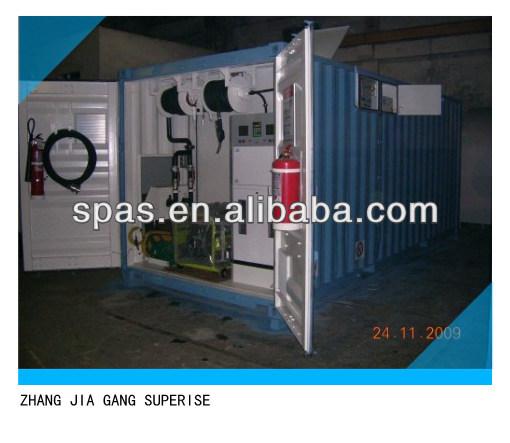20,000-30,000 móvil de litros de combustible del tanque de almacenamiento de contenedores de la estación