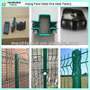 Curvy welded wire mesh fence/Polymer wire mesh fence/3 folds welded wire mesh fence with best price