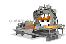concrete block machine and hydraulic splitter for paving stone