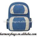 de promoción nuevo estilo de mezclilla azul mochila