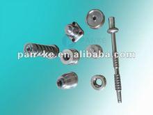 Verschiedene CNC-maschinell bearbeitenteile