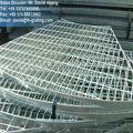 Galvanizado de malha de aço grating, indústria galvanizado grating de aço, ralar hdg