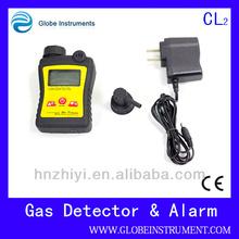 High precision chlorine detector and alarm Gas Meter