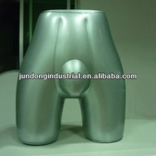 high quality Male panty Form silver mannequin
