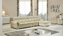 Mobiliário moderno hotel/alibaba italiano de couro em forma de l sofá para sala de estar/foshan canto seccional sofá de couro conjunto 638