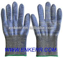 cut resistant glove HPPE fiber cut resistant hand gloves