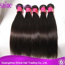 6A Unprocessed Indian/Brazilian/Malaysian/Peruvian Remy Hair Peruvian Hair Straight Natural Color 1B Peruvian Straight Hair