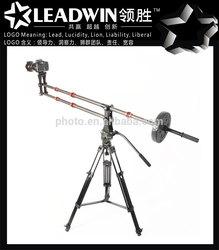 LW-J01C photo video dslr jimmy jib camera crane for sale, jib crane for video camera, professional camera crane for sale