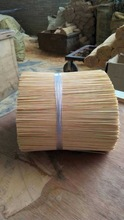 Natural/Bleached Round Bamboo Incense Stick For Agarbatti