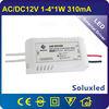 ac12v input 1-3*1w led power supply