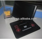 swivel 12 inch portable tv dvd player with usb