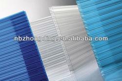 twin wall hollow polycarbonate sheet/solar polycarbonate sheet