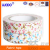 100% cotton fabric tape, fabric tape decorative ,fabric tape