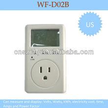 See larger image US plug Watt Power Energy Voltage Meter Monitor