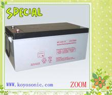 12v 250AH AGM long life VRLA UPS Battery