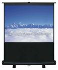 floor stand advertising projection screen/portable floor projector screen