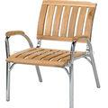 Loisirs façons patio chaise en bois