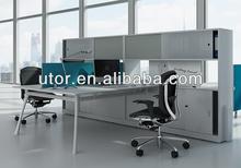 2014 new design modular modern office desk with overhead cabinet(FLX-series)
