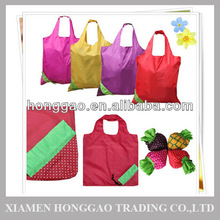 Fruit shape folding reusable shopping bags