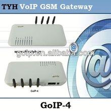 Providing VoIP GSM Gateway GoIP 4,soft switch