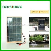 5w 10w mini Epoxy solar panel low price laminate solar panel for battery