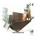 Los alimentos& beber el agua de desecho y la deshidratación de lodos de rhino equipo multi- placa de prensa de tornillo