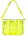 Pvc transparente bolsa de presente, ombro praia sacos de pvc