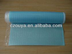 vapor barrier blue polyethylene foam adhesive