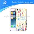 2014 novos produtos de design personalizado capas de telefone, transferência de água impressão caixas do telefone móvel por atacado
