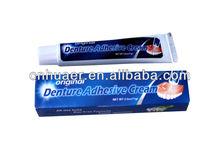 Oral care long shelf denture adhesive cream
