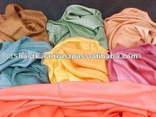 color rayon pashmina shawl